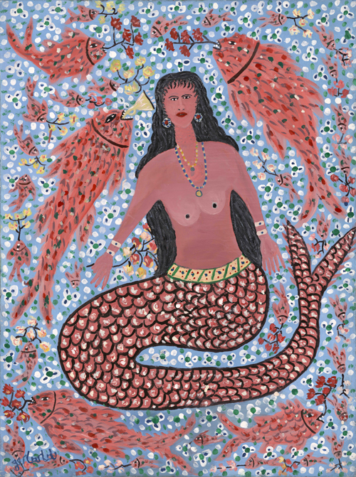 Elegant Mermaid, 1984