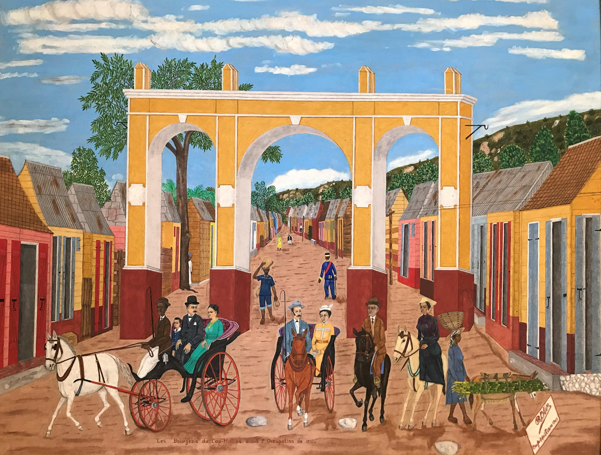 The Bourgeoisie of Cap-Haitien Before the Occupation of 1915, 1961